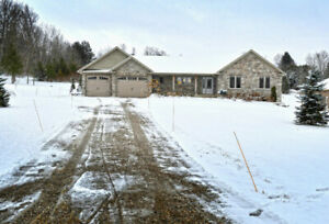 1 ACRE PROPERTY WITH NEWER 1,800 SQUARE FOOT BUNGALOW