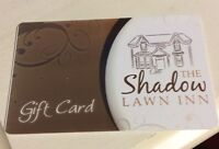 Shadow Lawn Inn Gift Card