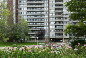 Spacious 2 & 3 Bedroom Suites available now in Ottawa South!