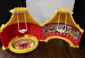 Vintage 1977 hasbro weebles cirque magique, magic circus