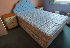 Free Double bed and bedroom furniture