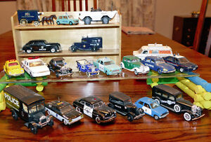 Police Cars Diecast 1/43 19 Car Collection