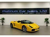2007 Lamborghini Gallardo V10 SPYDER Auto Convertible Petrol Automatic