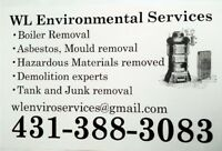 Demolition and Boiler, Asbestos, Mold, and Tank Removal