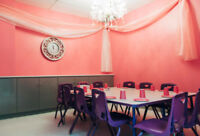 PRIVATE PARTY RENTAL SPACE WITH KIDS THEME- MISSISSAUGA