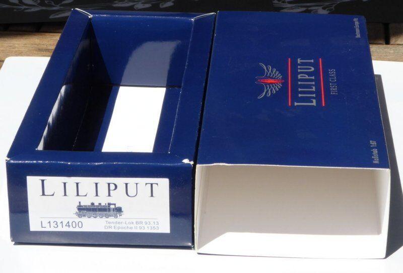 Liliput 131400 Imballaggi vuoti locomotiva a vapore BR 93 1353 DRG Epoca 2 ,