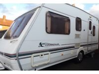 Swift Charisma 5 Berth Family Touring Caravan Part Of Ace Abbey Or Sterling Group.
