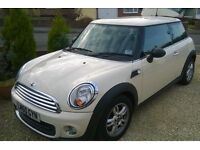 IMMACULATE 2010 MINI 1.6 LOW ONLY ***25000 MILES**** SPORTS CHILLI PACK