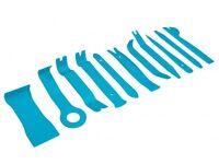 11 pce Car Trim Removal Set with Holder - Dashboard Door Panels Automotive Trim