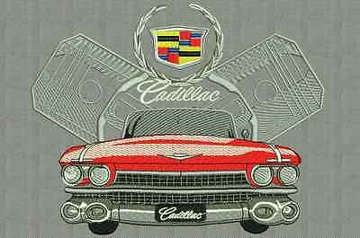 embroidery designs Cadillac patrones de máquina de bordar