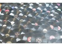 Large Collection of Old Gramophone Music Dance Records