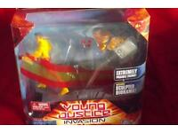 Dc universe young justice kid flash still in original packaging.