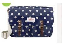 Cath Kidston saddle bag royal blue new