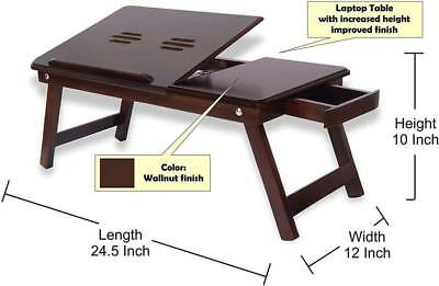 Wooden Laptop Table Portable Laptop Table Best Quality Lappy Table
