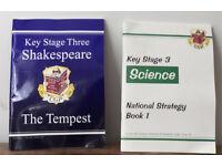 CGP Key Stage 3 books