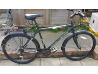 Black bike in need of a new home