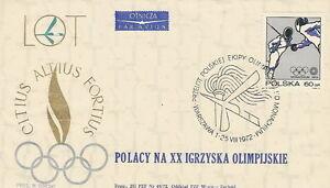 Poland postmark WARSZAWA - sport Olympic Munich 1972 (analogous) - <span itemprop=availableAtOrFrom>Bystra Slaska, Polska</span> - Poland postmark WARSZAWA - sport Olympic Munich 1972 (analogous) - Bystra Slaska, Polska