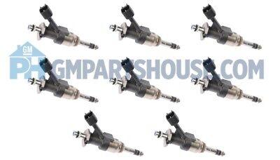 GEN V LT LTx LT4 GM High Flow Fuel Injectors 6.2 Cadillac Corvette 12684130 SET