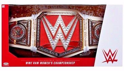 WWE Raw Women's Championship Title Belt Adult Full Size Prop Replica NEW