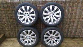 "Genuine Mercedes GLK VITO Transporter 5x112 19"" Alloy Wheels"