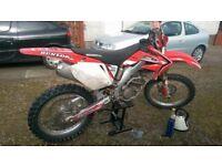 04/05 Honda crf250