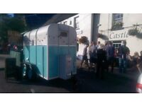 Street food converted horse box full business ready to go will suit any type of food stall