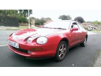 Toyota Celica Mk6 2.0 GT ( UK car ) One owner with long MOT , Maybe swap for estate car or sell