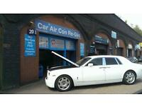 Car Air Con Regas £30.. !!! Thats IT..!! Any Car..!! CLIMATE CONTROLLERS 10 Years Experience