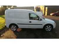 Vauxhall combo, factory made crew cab.