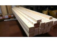 "2x2"" DRESSED REDWOOD TIMBER 8FT (OTHER SIZES AVAILABLE)"