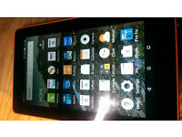 Kindle fire 7 with build