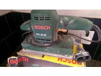 Bosch sander PSS 28 AE electronic, Orbital varible speed..