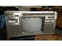 Vintage Panasonic tr1200 boombox radio,cassette,tv