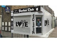 We are looking Barbers - Massage therapists--4 Barber Chairs and 1 room for rent- at Islington