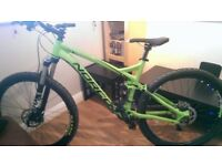 Norco Fluid 7.1 full suspension trials bike
