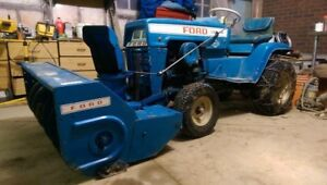 1973 Ford LGT 145 snow blower and mower