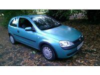 2003 Vauxhall Corsa 1.0 manual ( 973cc) ....3 door hatchback ... Very decent car