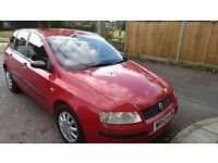 Red Fiat Stilo 1.2ltr 5 door, prefect for first time drivers!!