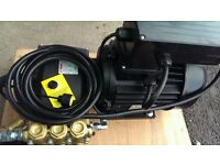 21litre three phase pressure washer