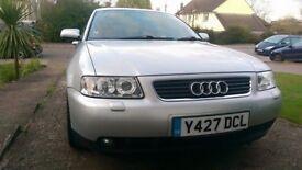 Audi A3 1.8T Sport 5 door Hatchback - ****engine seized****