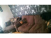 Large 2 seater sofa open to offers