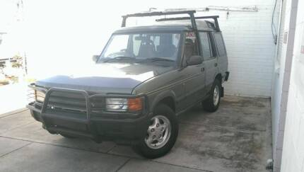 1997 LAND ROVER DISCOVERY 7 SEATER TURBO DIESEL