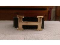 Hermes belt gold buckle