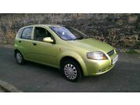 2003 Daewoo Kalos 1.4 se ..low miles very cheap