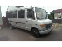 17 seat minibus, Big mercedes vario good runner, mot april, must go offers welcome 53 plate
