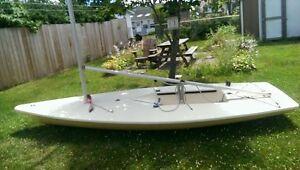 L1 laser sailboat