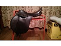 15 1/2 GP Saddle, leather