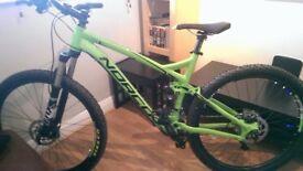 Norco Fluid 7.1 full suspension mountain bike