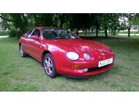 1995 Celica ( UK) 2.0 GT 168 model, one owner car, long MOT, new clutch, drives really well