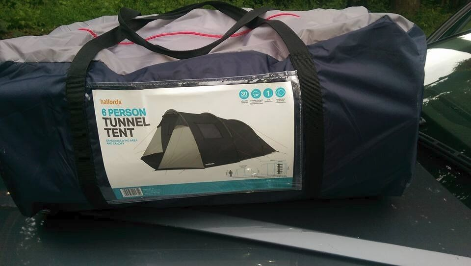 Brand New Halfords 6 Man Family Tunnel Tent & Brand New Halfords 6 Man Family Tunnel Tent | in Bournville West ...